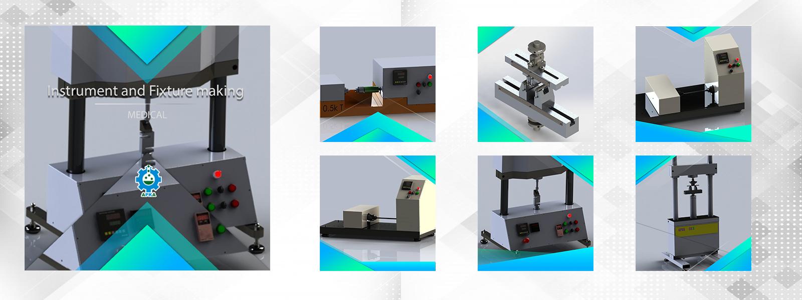 مهندسی ساخت دستگاه وتجهیزات فیکسچر